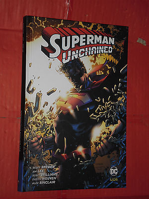 SUPERMAN- unchained- DI:SCOTT SNYDER -CARTONATO-EDIZIONI DC COMICS LION