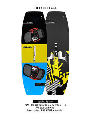 RRD Fifty Fifty 50-50 Splitboard 2016 - kitesurf board kiteboard - £150 off!!