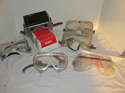 Lot of 6 Safety Goggles/Glasses Fibre-Metal VG600-H5 & Others LQQK!