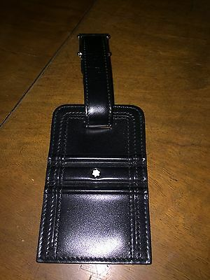 Mont Blanc Meisterstuck Luggage Travel tag. Paid £120 for it.