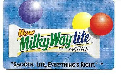 Milky Way Lite Collectible Phone Card  1997