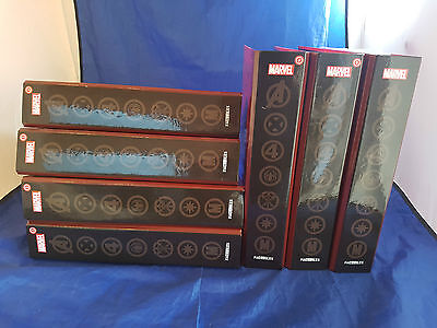 7 Marvel Fact Files Folder Eaglemoss Publication with 115 Issues