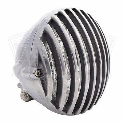 """5"""" Motorcycle Headlight with Grille for Bobber Chopper Triumph Sportster"""