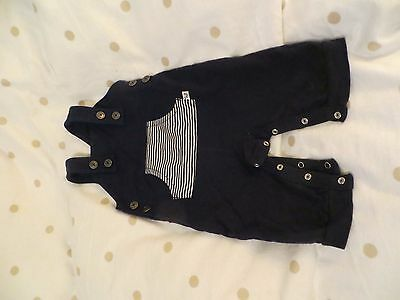 George Blue Dungarees 3-6 months Baby Boy