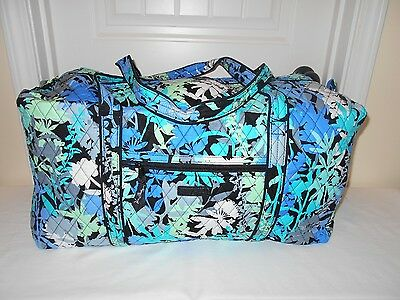 Vera Bradley CAMOFLORAL Large Duffel New With Tags $85 Retail FREE SHIPPING