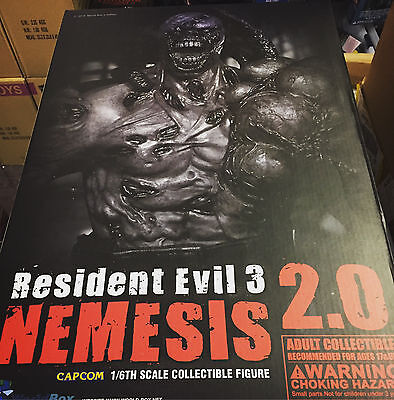 Worldbox Resident Evil 3 Nemesis 2.0 1/6 Scale Figure NEW