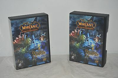 World Of Warcraft Trading Card Games X2 Heroes Of Azeroth Starter Decks Cards