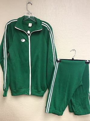Creslan Acrylic Warm Up Tracksuit Vintage Rare 70-80's Men's Large Made In USA