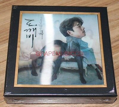 GOBLIN 도깨비 GONG YOO K-DRAMA OST Pack 1 CD + PHOTO BOOK + FOLDED POSTER NEW