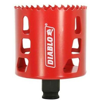 Freud DHS2750 Diablo High Performance Hole Saw Ideal for Drilling Wood, Plastic,
