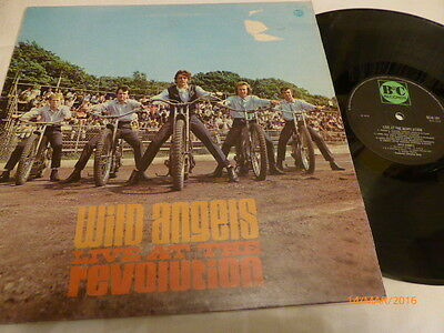 Wild Angels - Live At The Revolution , B & C 1970 , Very Good Plus / Excellent ,