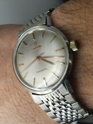 OMEGA SEAMASTER AUTOMATICO WATCH VINTAGE '65 orologio, SWISS MADE.Spettacolare.