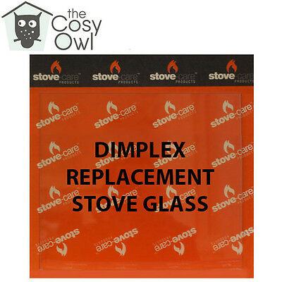 Dimplex Replacement Stove Glass - Heat Resistant Glass For Dimplex Stoves
