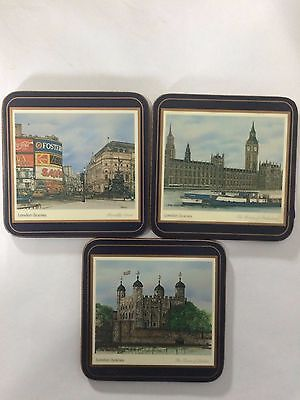 Vintage Pimpernel Coasters - Set of 3