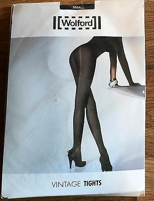 WOLFORD Brand New & Unopened patterned tights. size SMALL