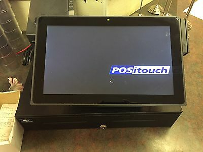 POS System POSiTouch Restaurant One Year Old!! Complete system.