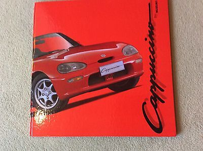 Suzuki Cappucino Illustrated Owners Souvenir book