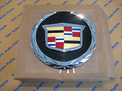 Cadillac Escalade Front Grille Emblem Badge Crest OEM New Genuine  2007-2014
