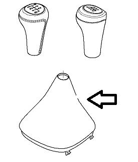BMW Z4 Gear Lever Cover