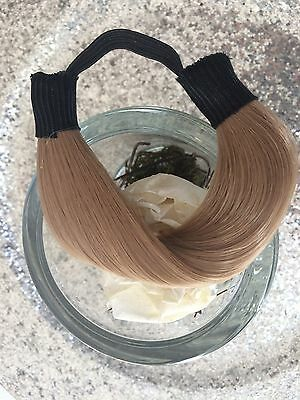 Cacher Un Elastique Queue De Cheval Chignon Rajout En Cheveux Synthetiques Blond