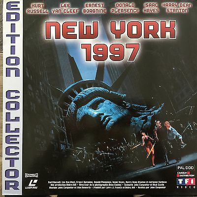 New York 1997 Edition Collector Laserdisc Vf Pal + Poster