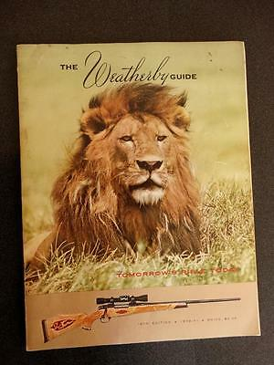 Weatherby Guide 16th Edition 1970 1971 Firearms Guns Magazine Price List
