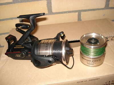 Shimano  4500B Baitrunner With Spare Spool In Very Good Condition See Pictures