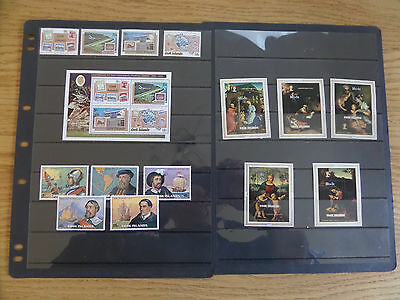 Cook Islands 1974-75 sets and miniature sheets unmounted mint