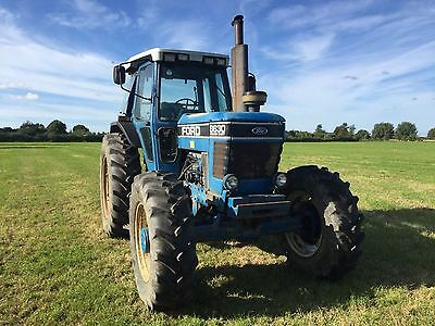 Ford 8360 Tractor Farm Tractor