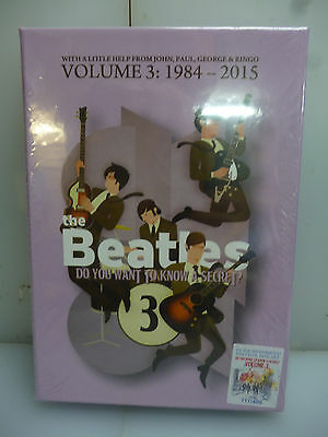 Beatles-Do You Want To Know A Secret? Vol.3:1984-'15-12Cd+3Dvd Boxset-New.sealed