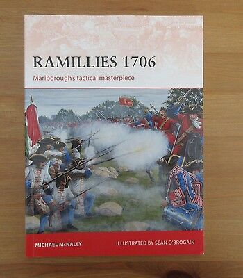 book OSPREY RAMILLIES 1706 CAMPAIGN 275 mcnally
