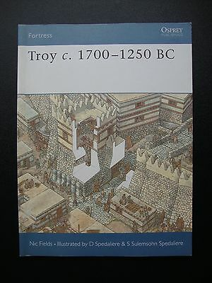 Osprey Fortress series 17 book Troy 1700-1250 BC Nic Fields