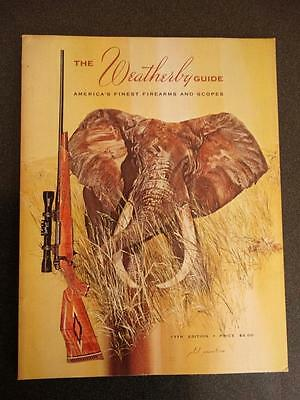 Weatherby Guide 17th Edition 1973 Firearms Guns Magazine Price List 1974