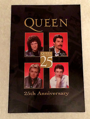 "Queen ""25Th Anniversary"" Ultra-Rare Original Japanese Promo Only Toshiba Booklet"