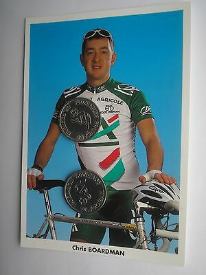 photo cyclisme ciclismo cycling équipe CREDIT AGRICOLE 1998     CHRIS BOARDMAN