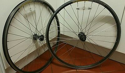 alexrims g2000 wheelset w.shimano deore 9 spd hubs