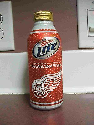 2011 detroit red wings nhl aluminum beer can bottle collectors cabottle pint
