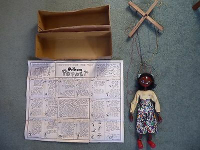 Rare Pelham Puppet complete with original box and instructions sheet.