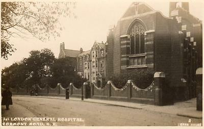 1st London General Hospital (A) Cormont Road Camberwell unused RP pc Card House