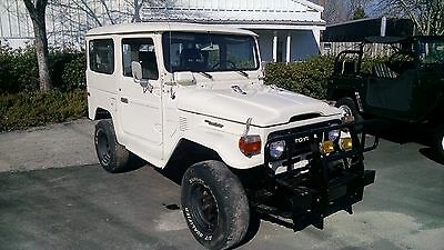1983 Toyota Land Cruiser  RARE! 1983 Toyota FJ40 Land Cruiser Att: Collectors. ONLY 300 IMPORTED to the US
