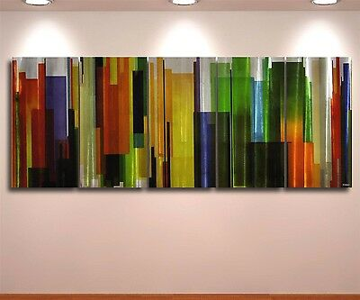 Metal Abstract Painting Wall Art  original decor contemporary singn Modern