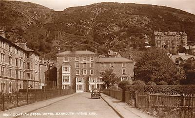 Cors Y Cedol Hotel Barmouth unused RP old pc Views Ltd