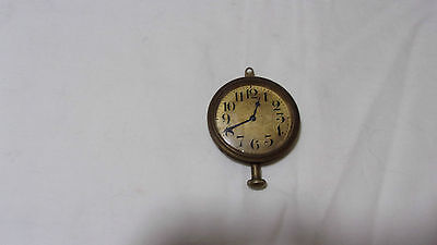Antique Waltham Automobile/Car Clock Beveled Glass Crystal
