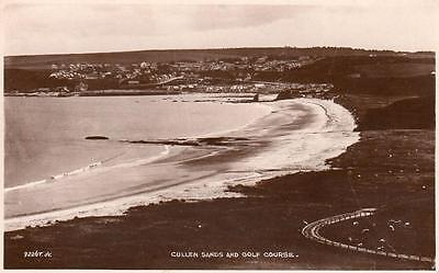 Cullen Sands & Golf Course unused RP pc 1929 G W Findlay