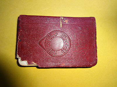 Antique 1905 SUNLIGHT Waistcoat Pocket Diary Compliments of LIFEBOUY SOAP LEVER