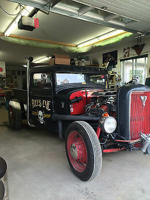 1932 Ford Model A  1932 Rat Rod Ford Model A Tow Truck