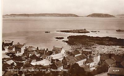 Guernsey Herm & Jetho from St Peter Port unused RP pc Photochrom