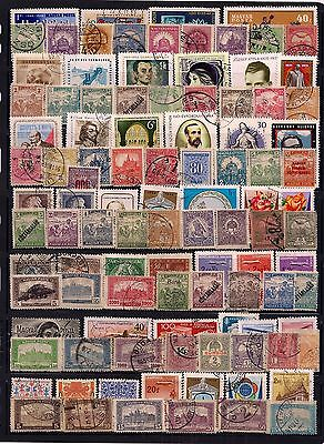 Hungary- Selection Of 100+ Fine Used Stamps.early Onwards,looks All Different.ni