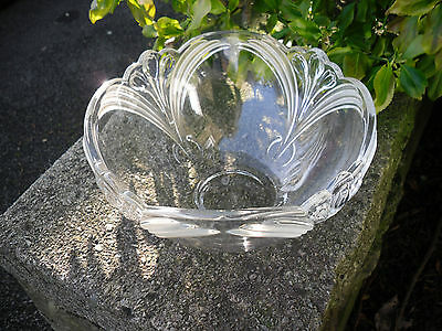 Lovely Art Deco Style Glass fruit/trifle Bowl