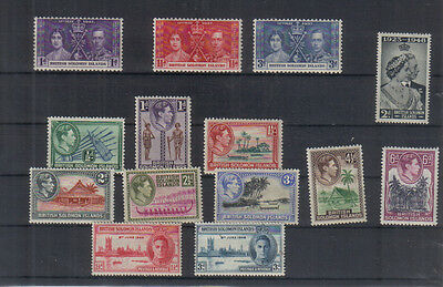 Solomon Islands George VI Unmounted mint collection